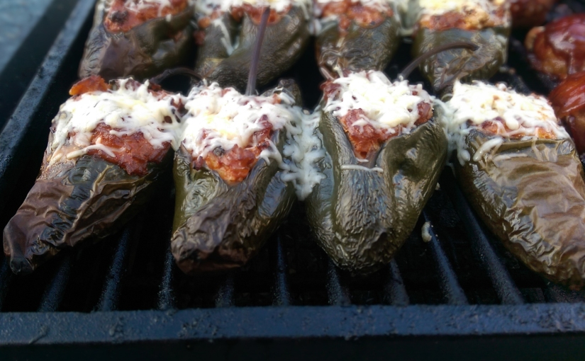 Smoky Stuffed Pablano Peppers!